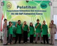 Pelatihan bagi Anggota RAPI se-Kabupaten Bantul angkatan-1 dengan tema Pengetahuan Komunikasi dan Kemampuan TRC UKB Kabupaten Bantul