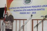 Pelantikan dan Pengukuhan Pengurus Lokal Jetis