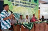 Pelatihan bagi Anggota RAPI se-Kabupaten Bantul angkatan-2 dengan tema Pengetahuan Komunikasi dan Kemampuan TRC UKB Kabupaten Bantul