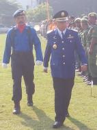 Pemeriksaan Pasukan oleh Bupati Bantul